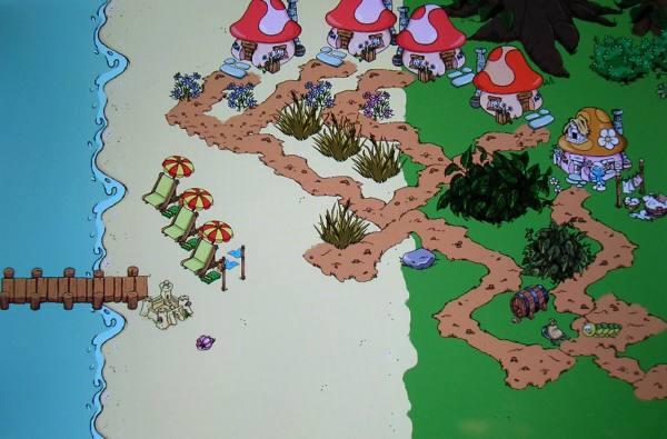 Smurf Village meine felder