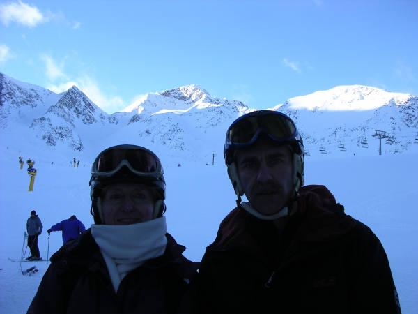 Stubaital Gletscher