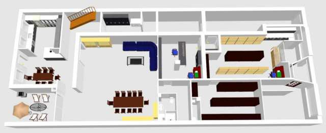3D Animation Raumplanung